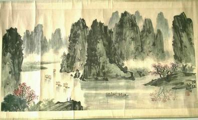 特色工艺之桂林山水画